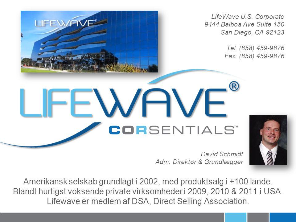 Amerikansk selskab grundlagt i 2002, med produktsalg i +100 lande.