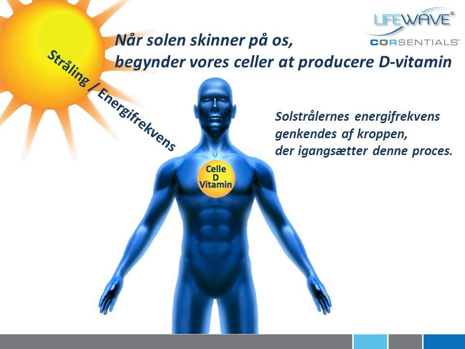 begynder vores celler at producere D-vitamin