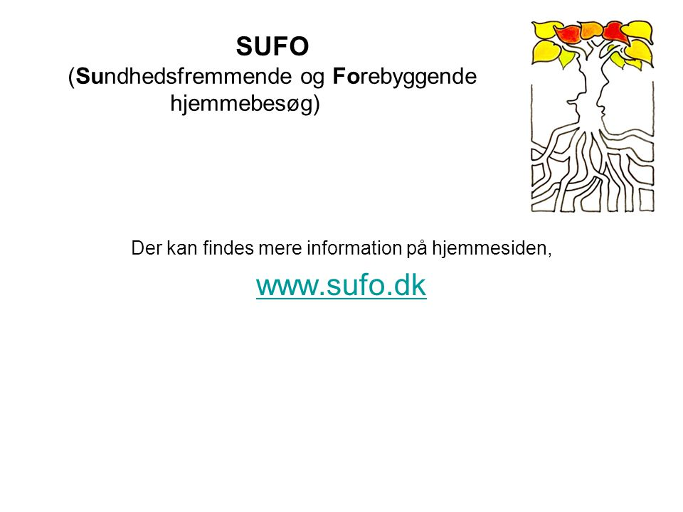SUFO (Sundhedsfremmende og Forebyggende hjemmebesøg)