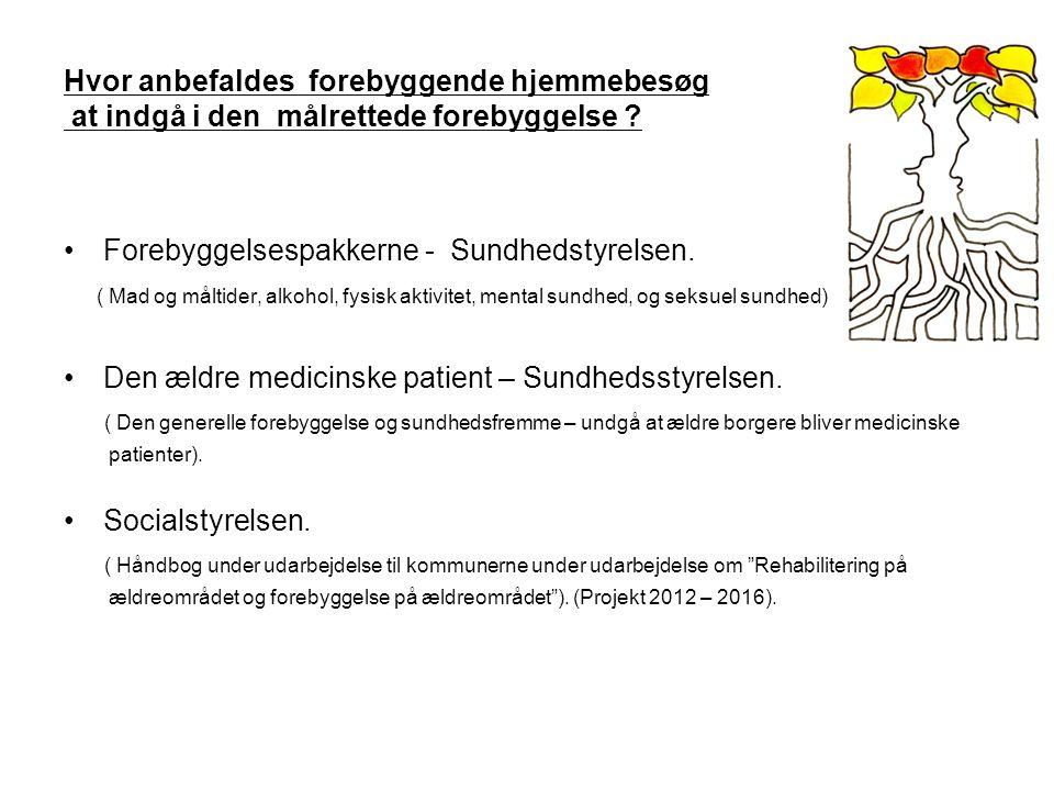 Forebyggelsespakkerne - Sundhedstyrelsen.