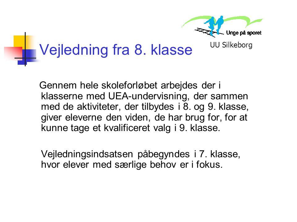 Vejledning fra 8. klasse UU Silkeborg.