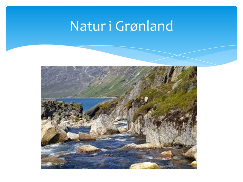 Natur i Grønland