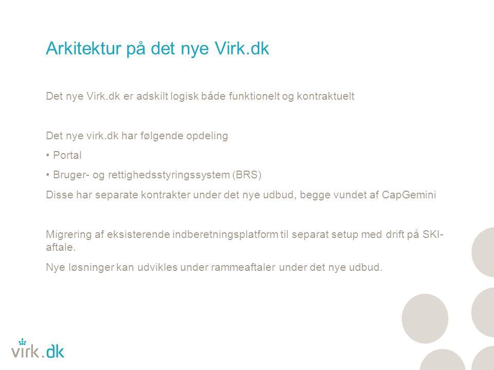 Arkitektur på det nye Virk.dk