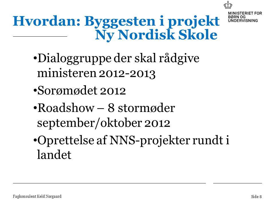 Hvordan: Byggesten i projekt Ny Nordisk Skole