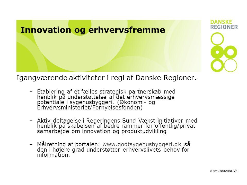 Innovation og erhvervsfremme