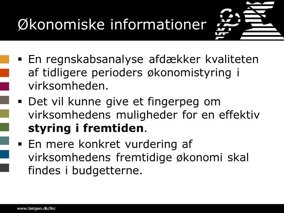 Økonomiske informationer