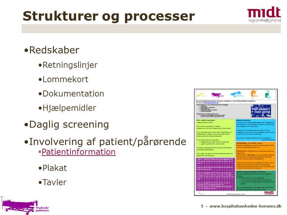 Strukturer og processer