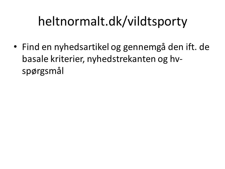 heltnormalt.dk/vildtsporty