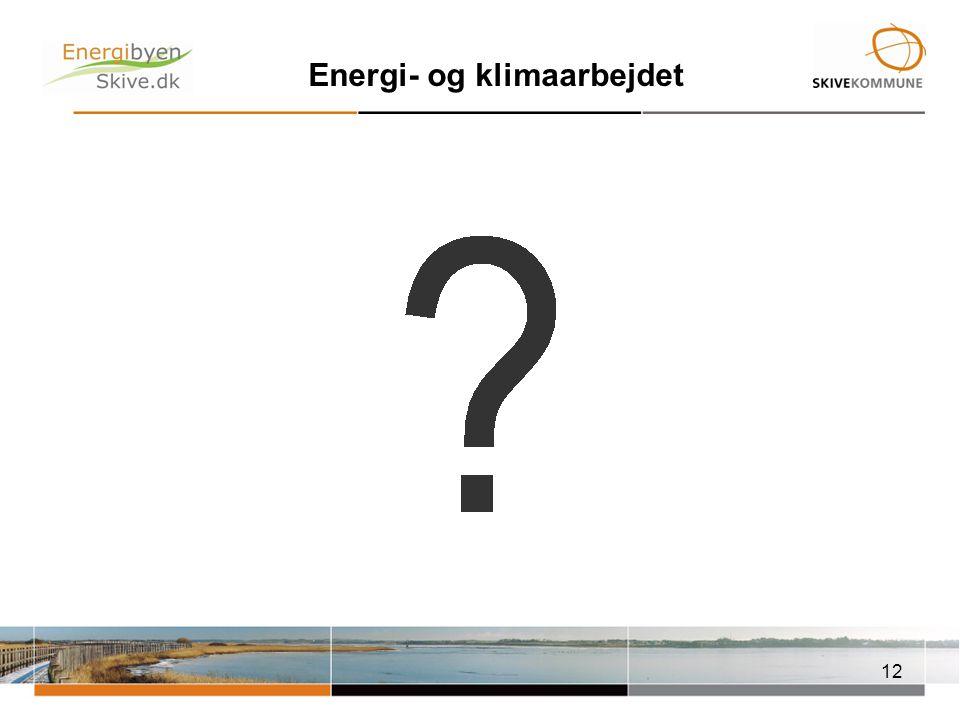 Energi- og klimaarbejdet