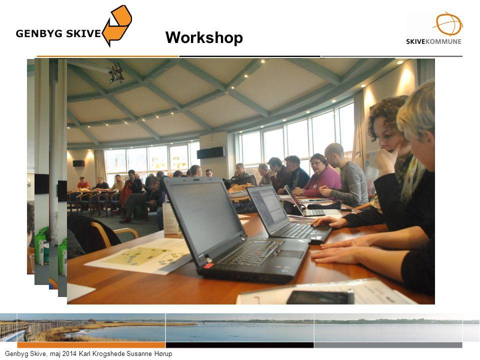 Workshop Genbyg Skive, maj 2014 Karl Krogshede Susanne Hørup