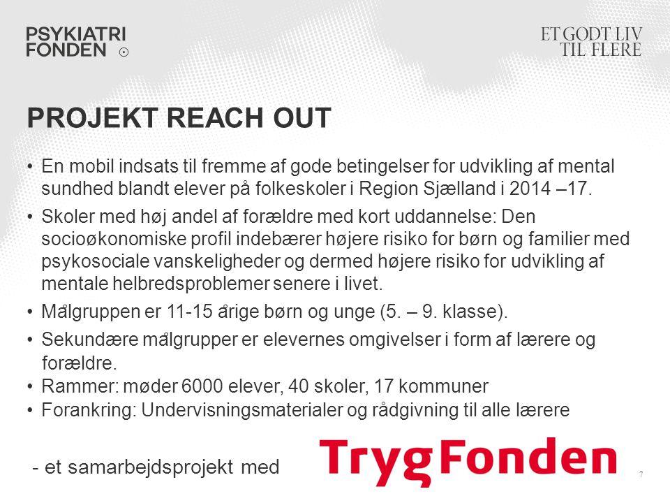 projekt Reach Out - et samarbejdsprojekt med