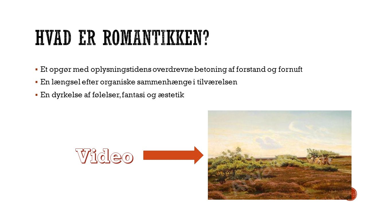 Hvad er romantikken Video