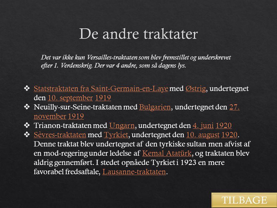 De andre traktater TILBAGE
