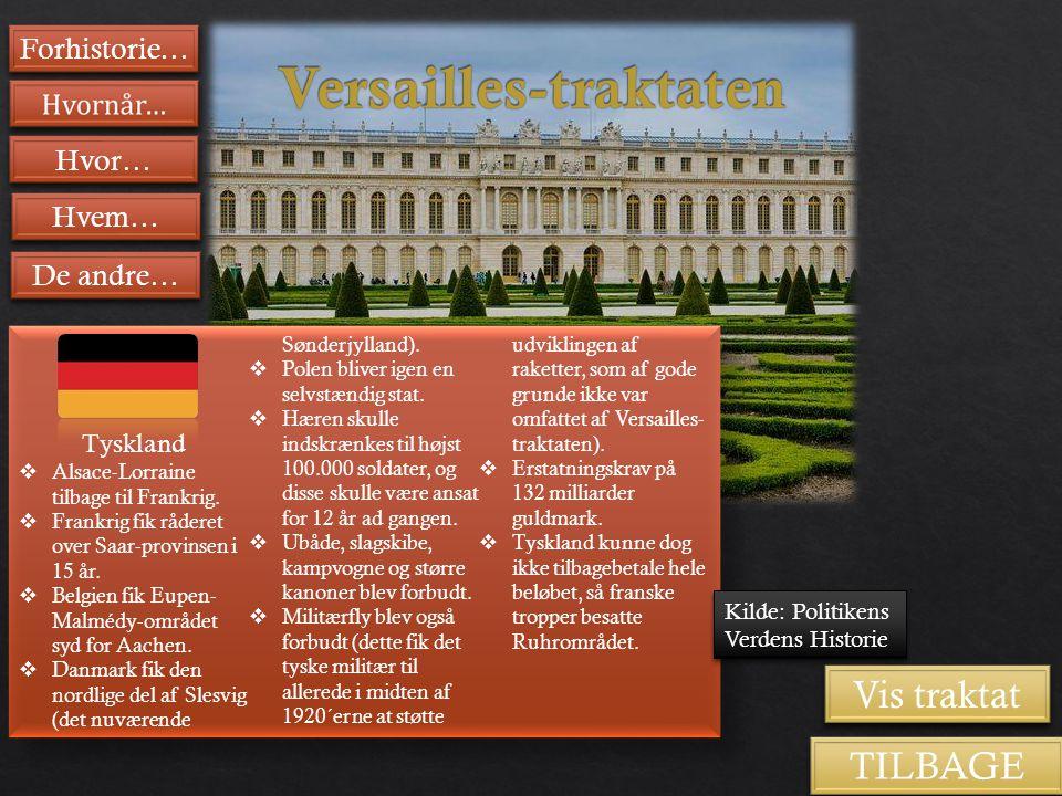 Versailles-traktaten