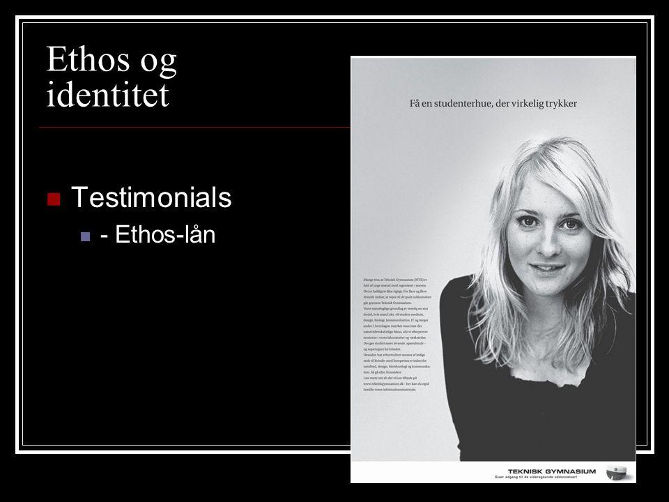 Ethos og identitet Testimonials - Ethos-lån