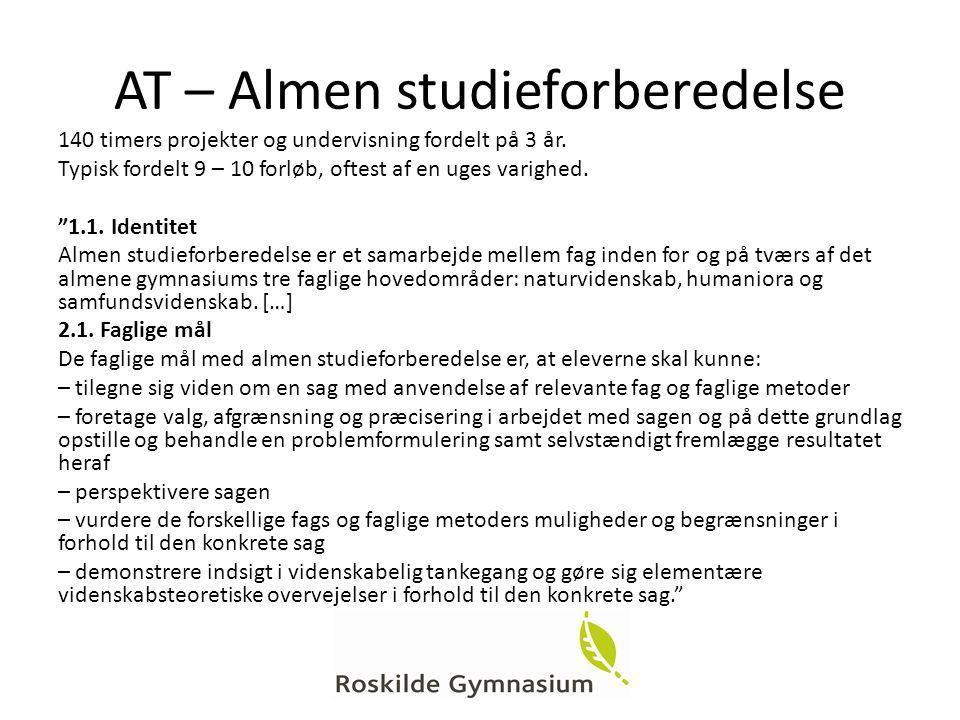 AT – Almen studieforberedelse