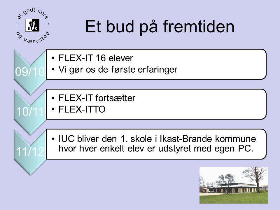 Et bud på fremtiden 09/10 FLEX-IT 16 elever