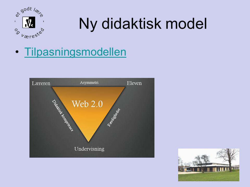 Ny didaktisk model Tilpasningsmodellen