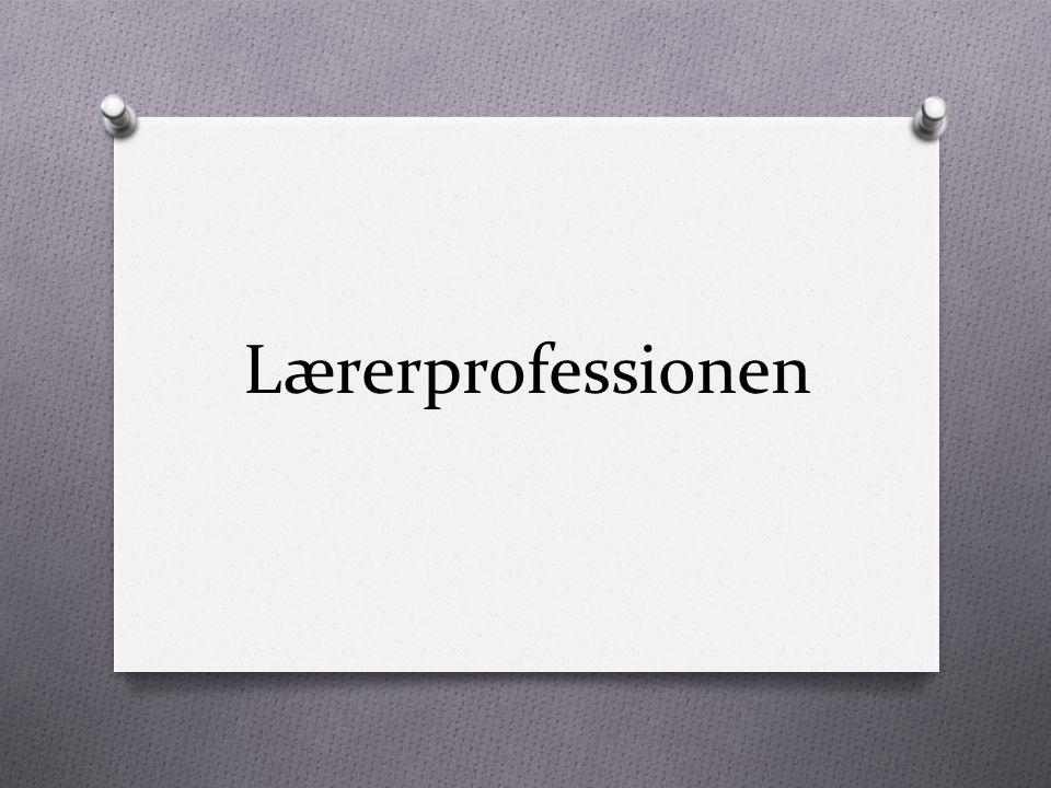 Lærerprofessionen
