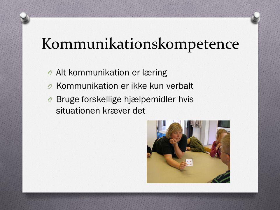 Kommunikationskompetence