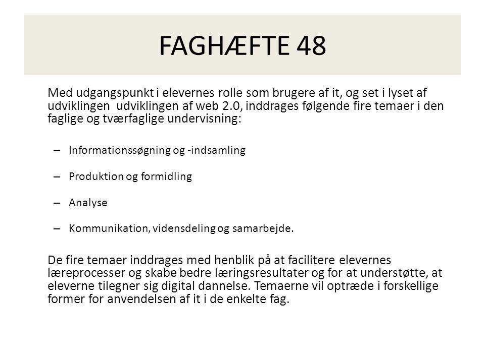 FAGHÆFTE 48
