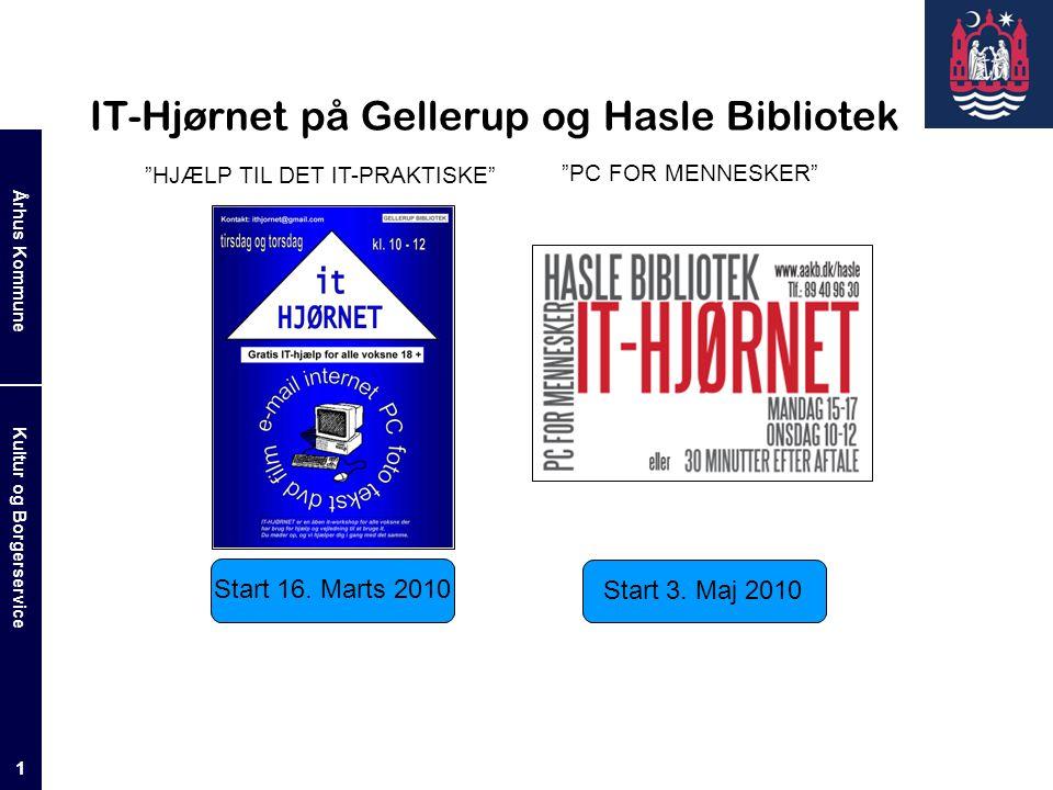 IT-Hjørnet på Gellerup og Hasle Bibliotek