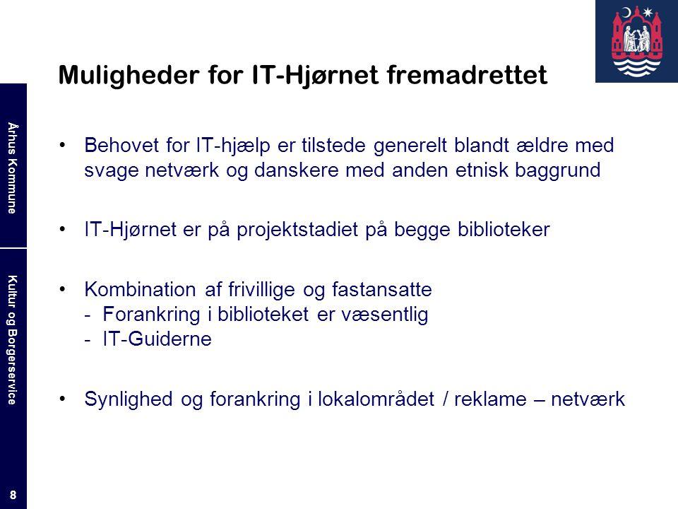 Muligheder for IT-Hjørnet fremadrettet
