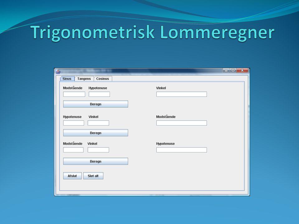 Trigonometrisk Lommeregner
