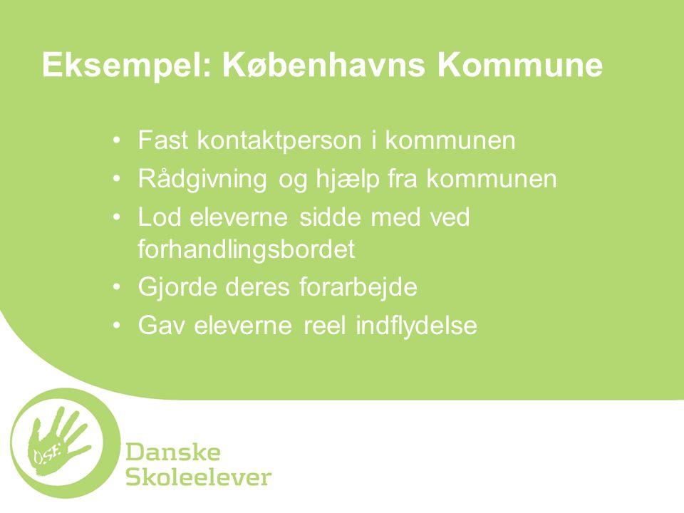 Eksempel: Københavns Kommune