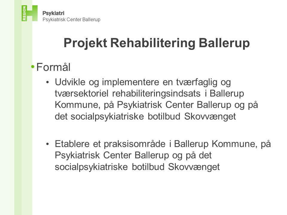 Projekt Rehabilitering Ballerup