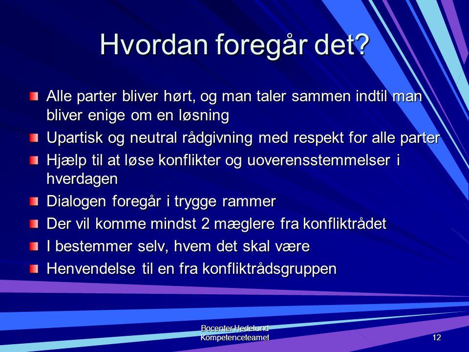 Bocenter Hedelund Kompetenceteamet