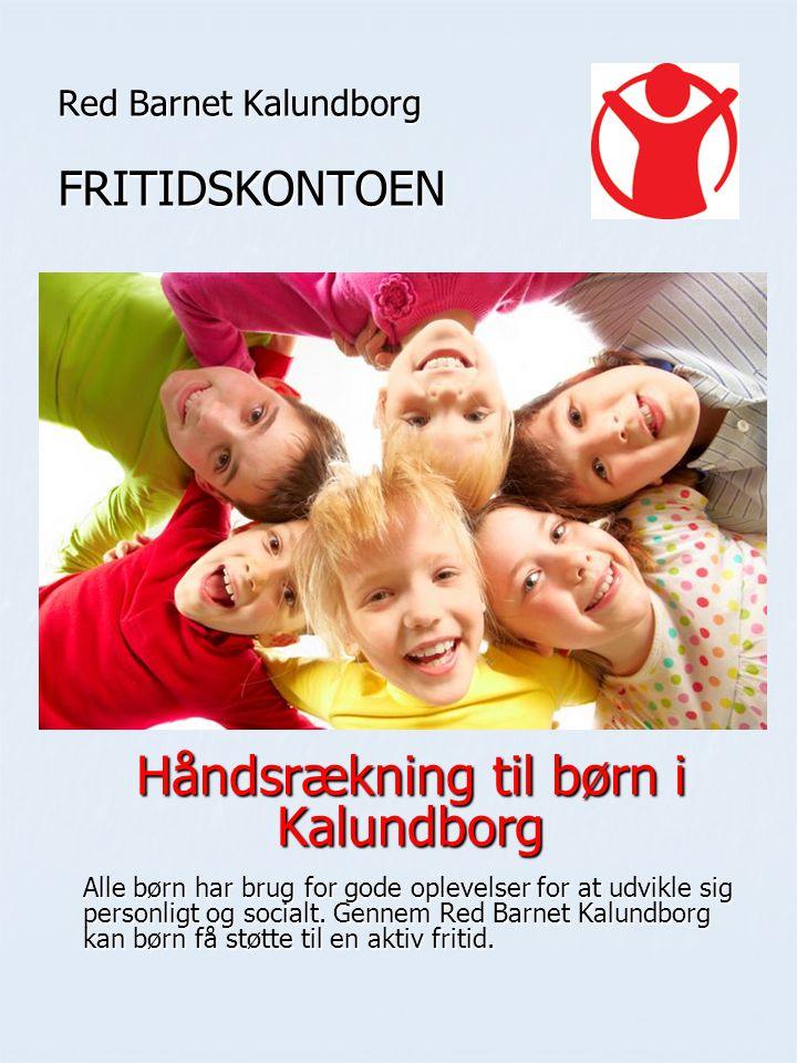 Red Barnet Kalundborg FRITIDSKONTOEN