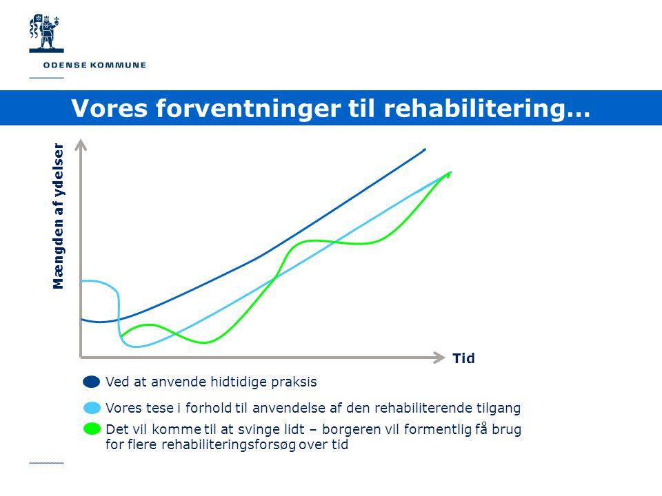 Vores forventninger til rehabilitering…