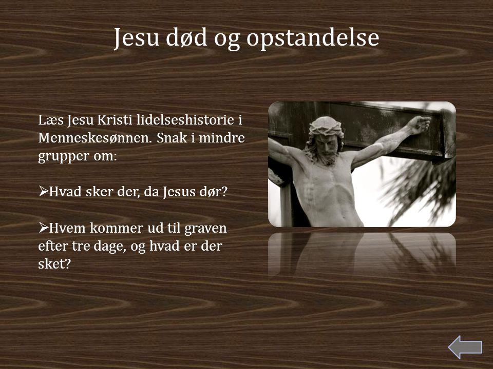 Jesu død og opstandelse