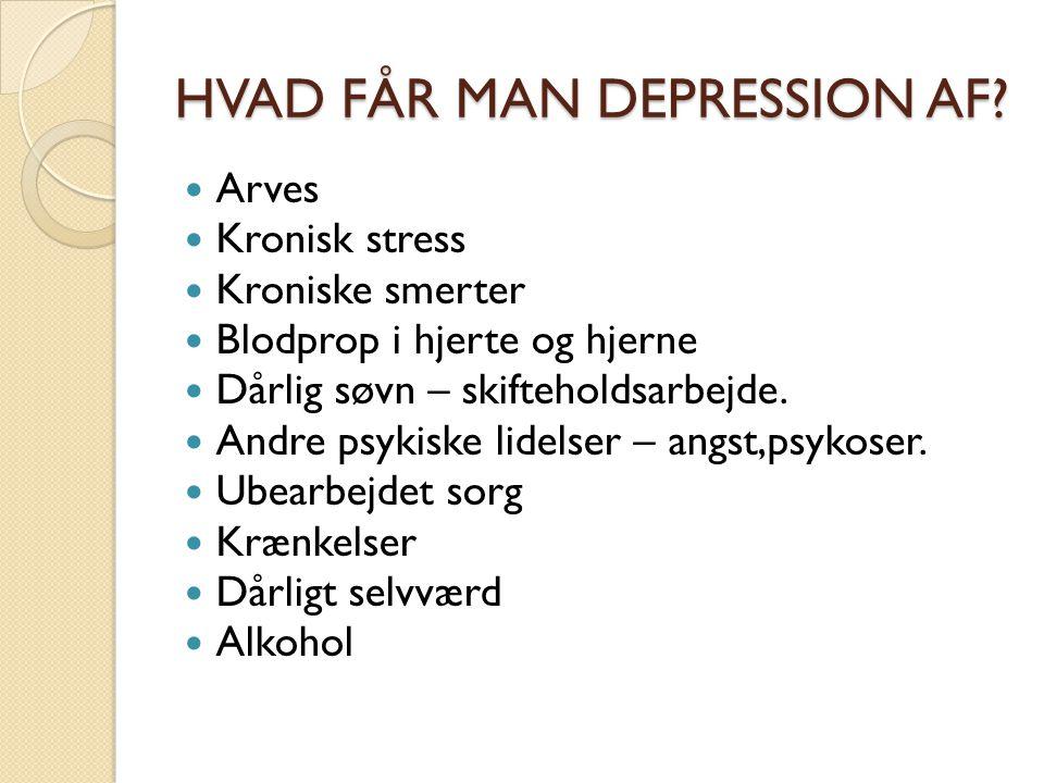 DEPRESSION! Undervisning af udviklingssygeplejerske Irene Amby - ppt download