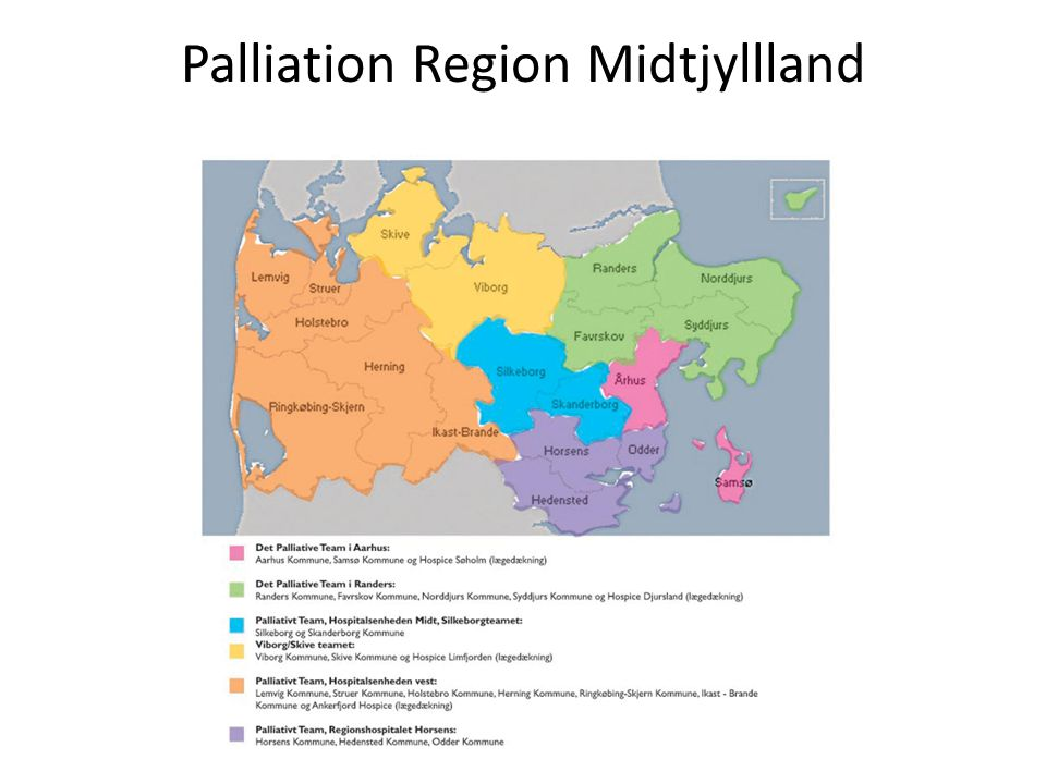 Palliation Region Midtjyllland