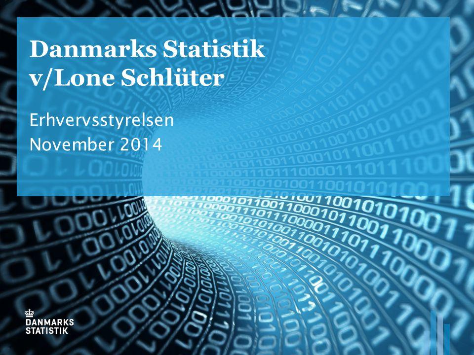 Danmarks Statistik v/Lone Schlüter