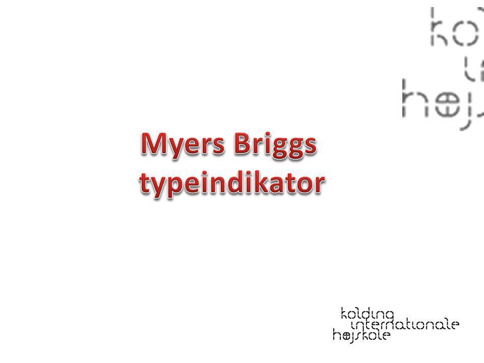Myers Briggs typeindikator