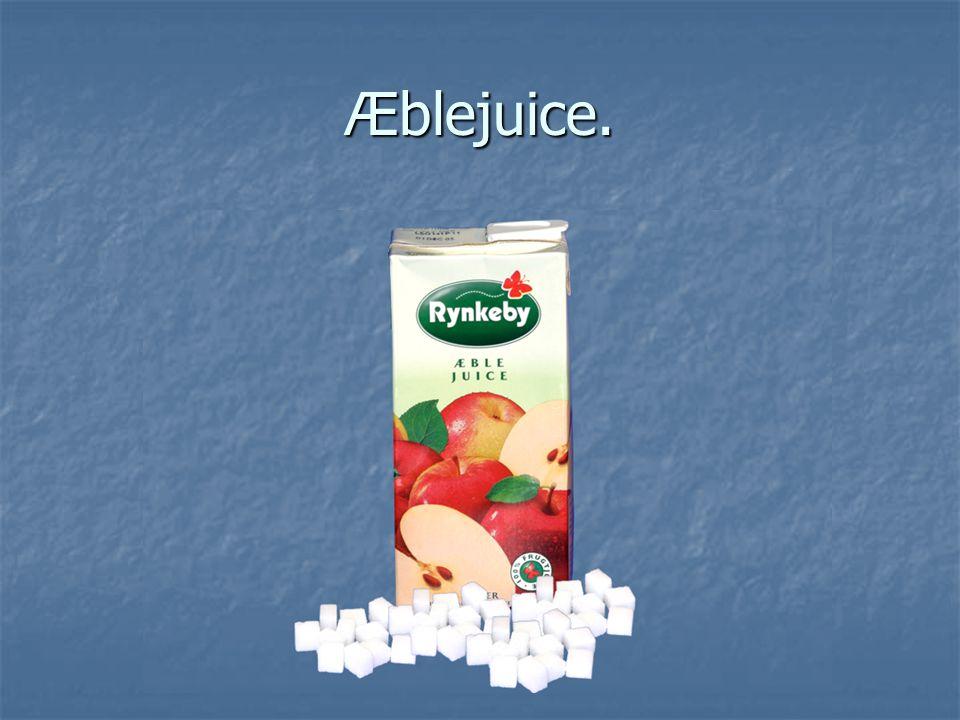 Æblejuice.