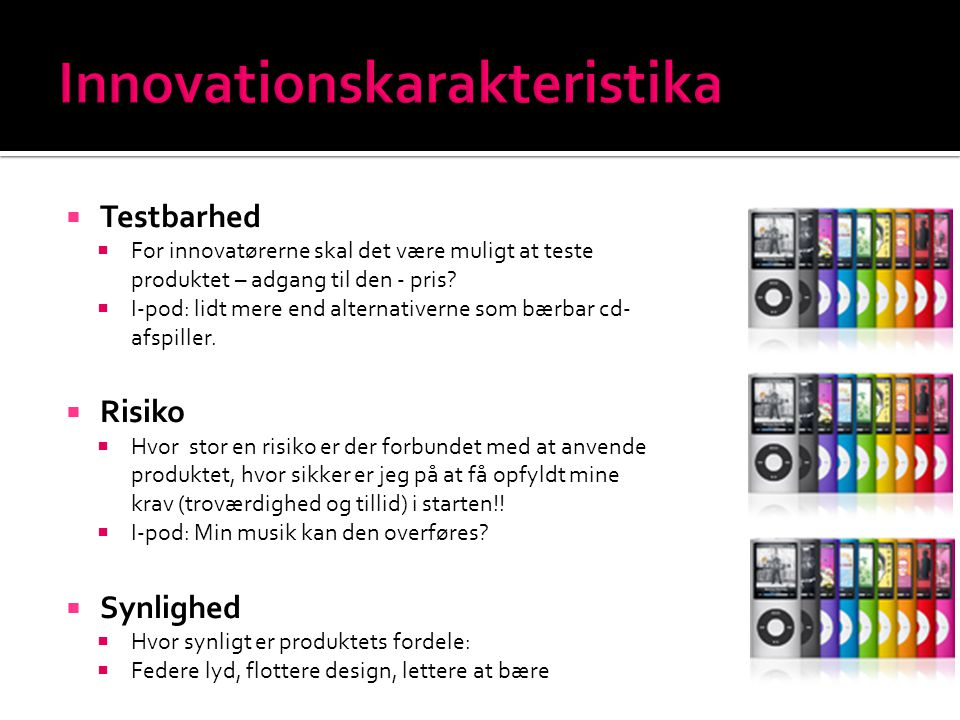 Innovationskarakteristika