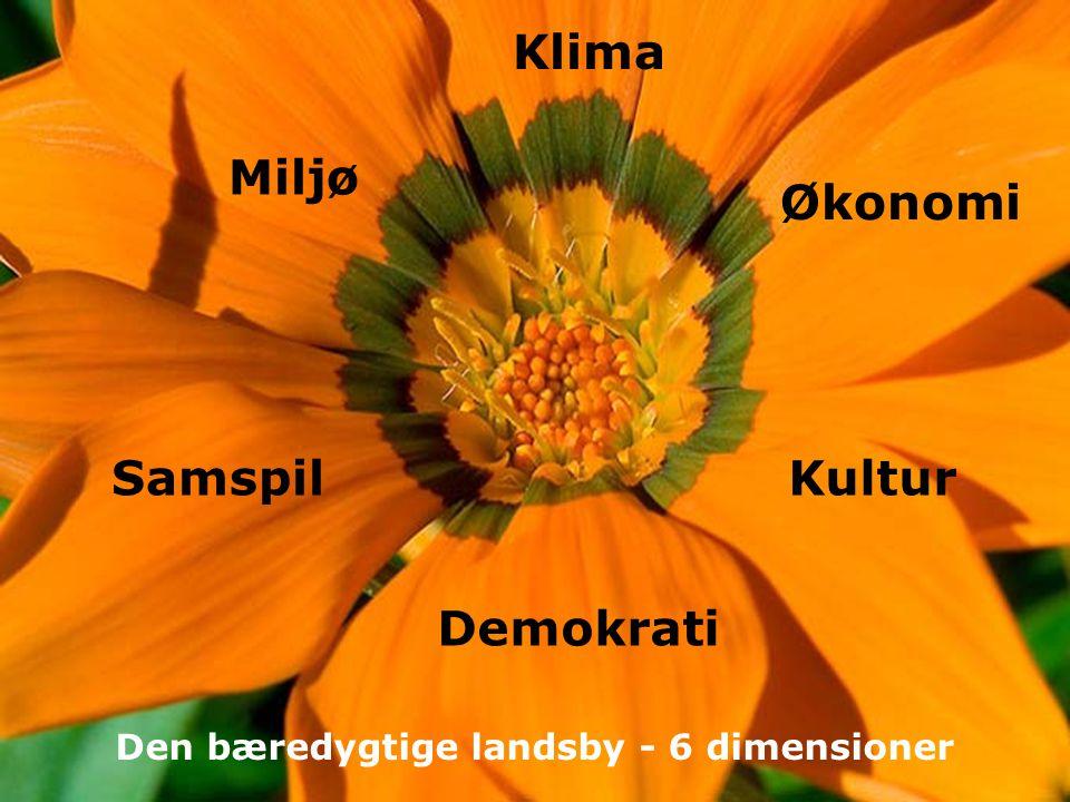 Den bæredygtige landsby - 6 dimensioner