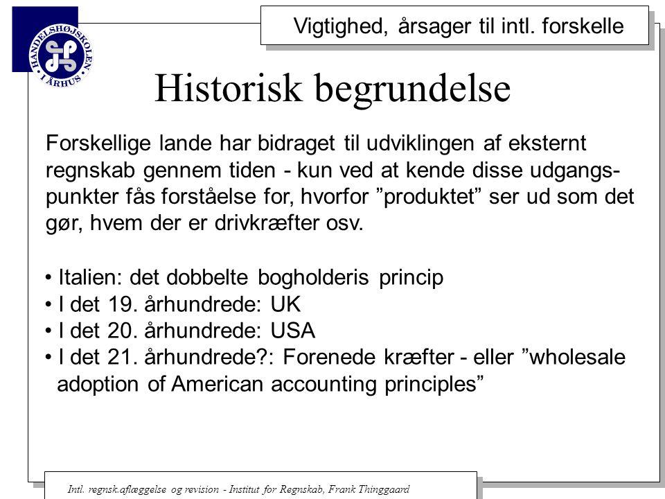 Historisk begrundelse