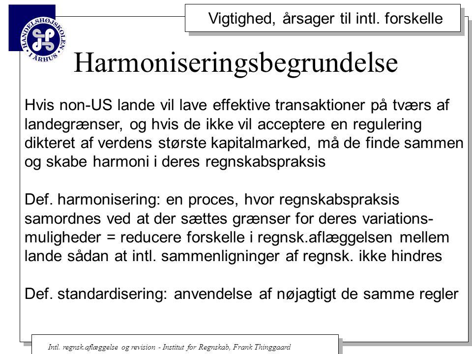 Harmoniseringsbegrundelse