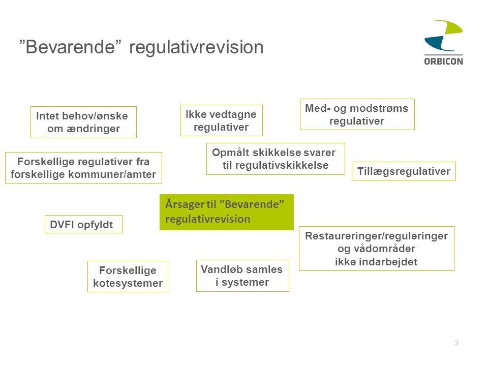 Bevarende regulativrevision
