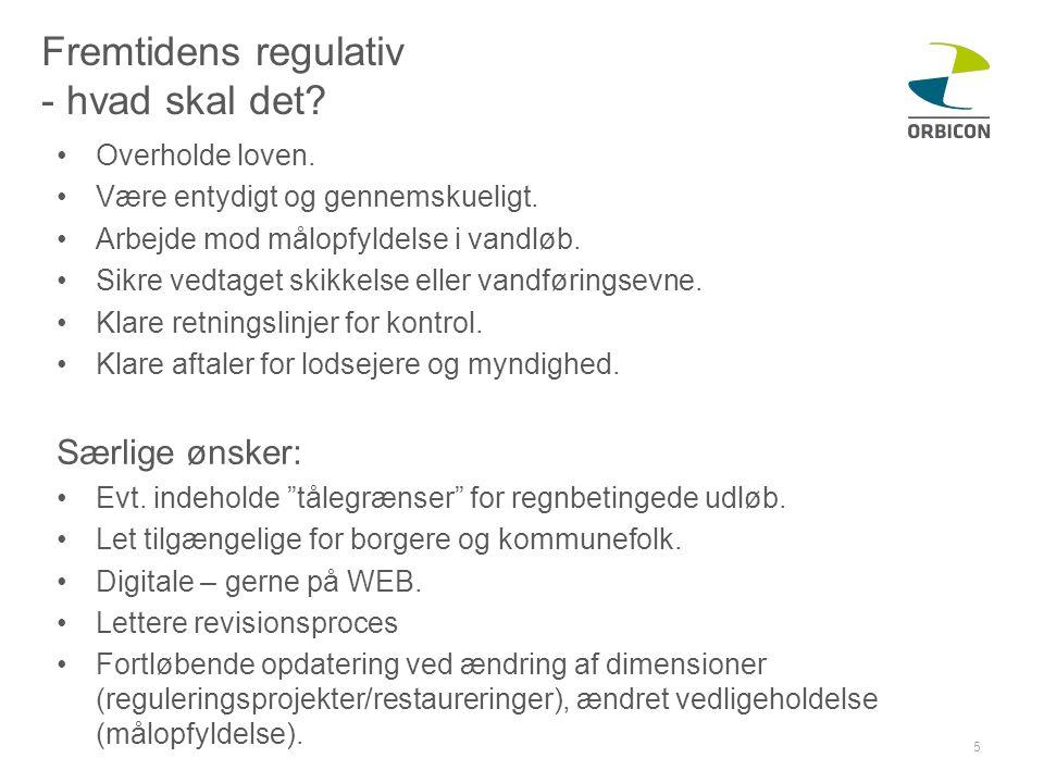 Fremtidens regulativ - hvad skal det