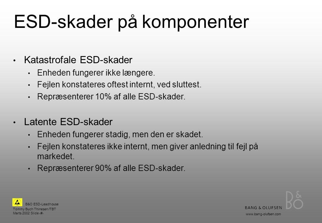 ESD-skader på komponenter