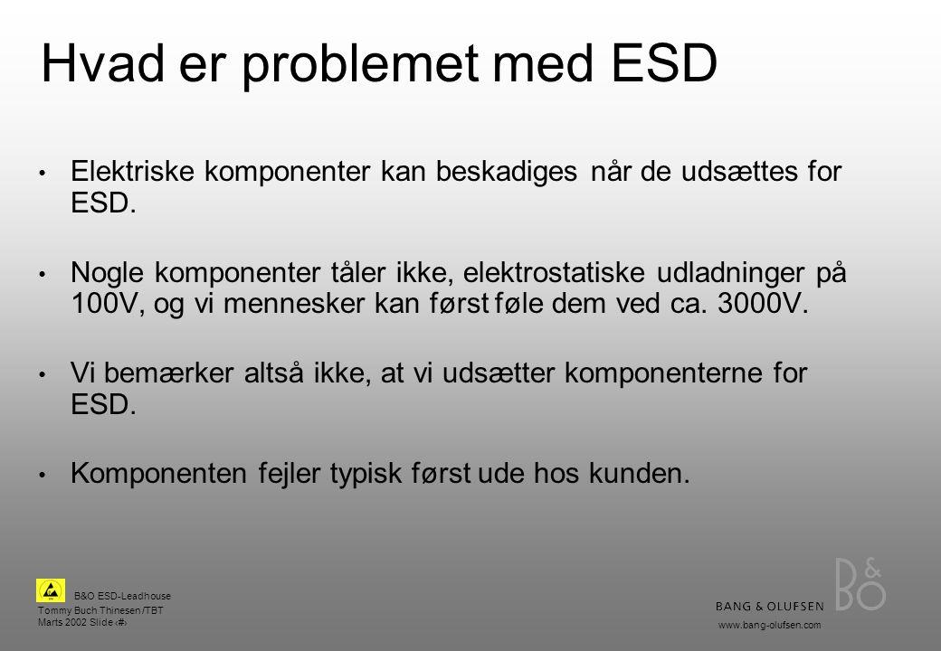 Hvad er problemet med ESD