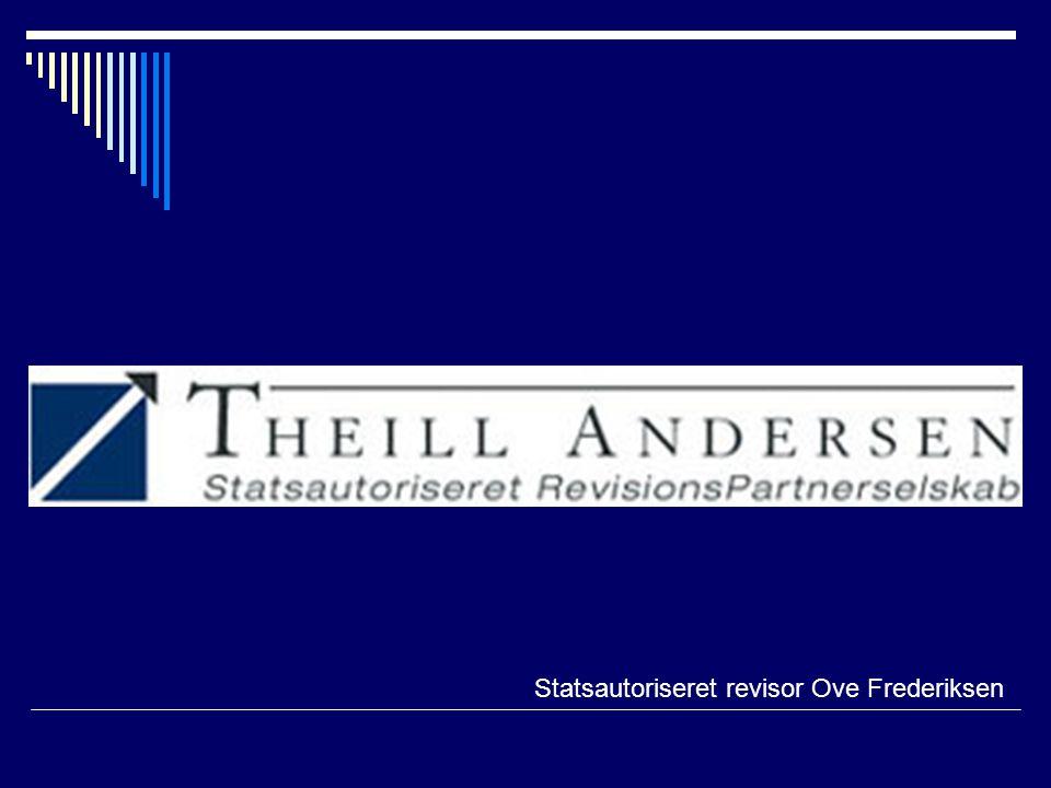 Statsautoriseret revisor Ove Frederiksen
