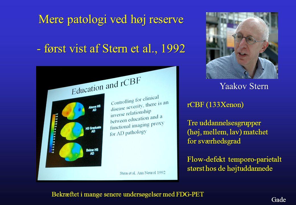 - først vist af Stern et al., 1992