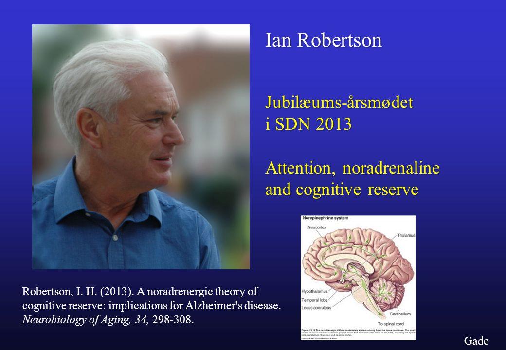 Ian Robertson Jubilæums-årsmødet i SDN 2013